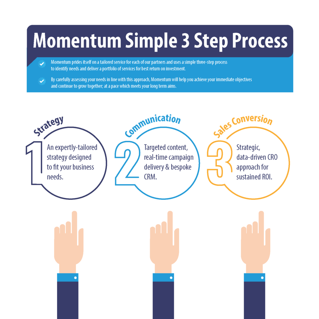 momentum process of sales and marketing strategy